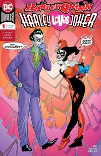 Harley Quinn Harley Loves Joker Vol 1 1