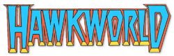 Hawkworld (1989-1993) 10 logo