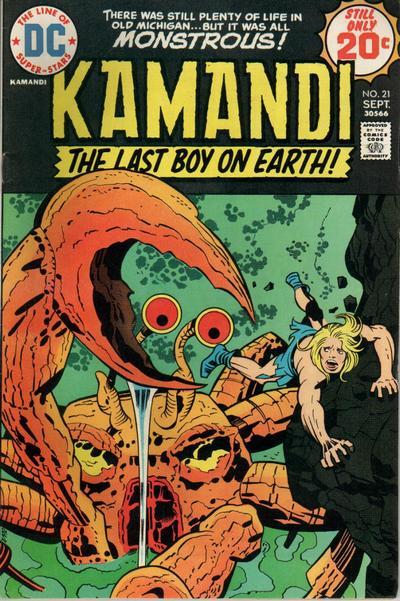 Kamandi Vol 1 21 Dc Database Fandom Powered By Wikia