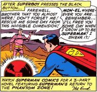 Superboy's Promise to Mon-El