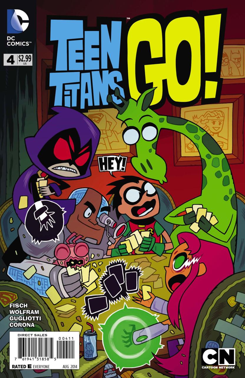 Teen titans books