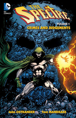 Cover for the The Spectre: Crimes and Judgments Trade Paperback
