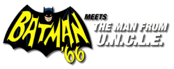 Batman '66 Meets the Man From UNCLE (2015) logo