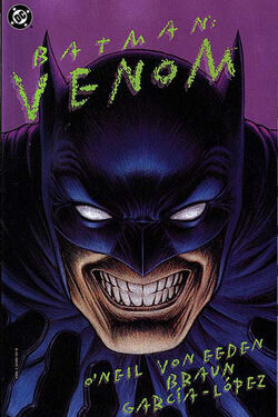 Cover for the Batman: Venom Trade Paperback