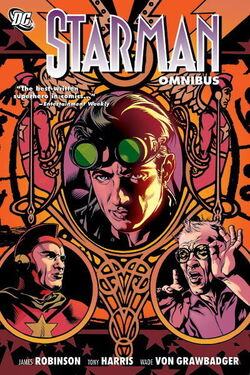 Cover for the Starman Omnibus Vol. 1 Trade Paperback