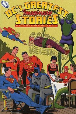 Cover for the DC's Greatest Imaginary Stories, Vol. 1 Trade Paperback