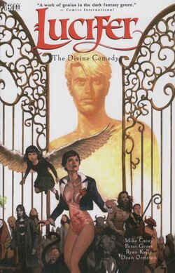 Cover for the Lucifer: The Divine Comedy Trade Paperback