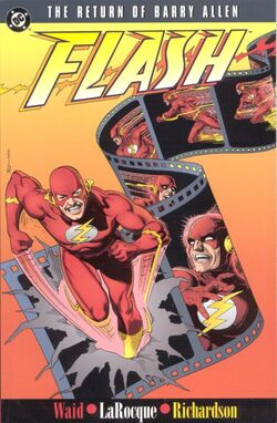 Cover for the The Flash: The Return of Barry Allen Trade Paperback