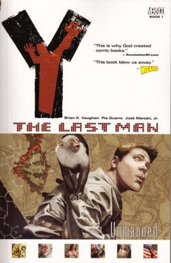 Cover for the Y: The Last Man: Unmanned Trade Paperback