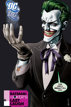 Cover for the Batman: The Joker's Last Laugh Trade Paperback