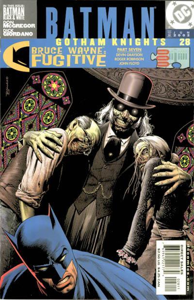 BATMAN GOTHAM KNIGHTS #25 VERY FINE 2002 DC COMICS