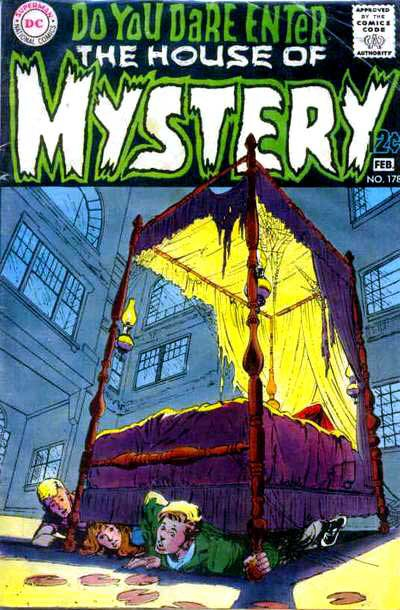 House of Mystery Vol 1 178   DC Database   FANDOM powered by Wikia