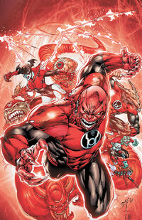 Red Lanterns Vol 1 1 Textless