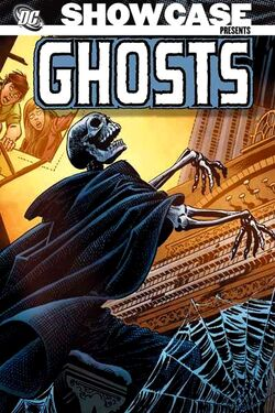 Cover for the Showcase Presents: Ghosts Vol. 1 Trade Paperback