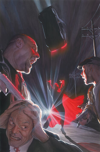 Textless Variant Cover by Alex Ross
