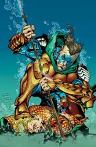 Corum Rath battles the King of Atlantis