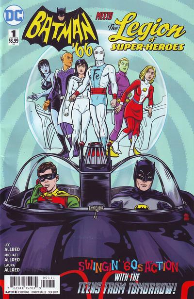 Image result for batman 66 meets legion of superheroes