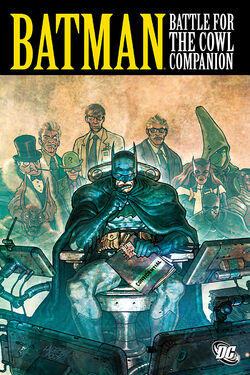 Cover for the Batman: Battle for the Cowl Companion Trade Paperback
