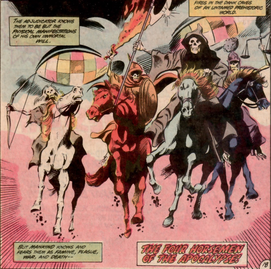 Four Horsemen of the Apocalypse (Earth-One)   DC Database