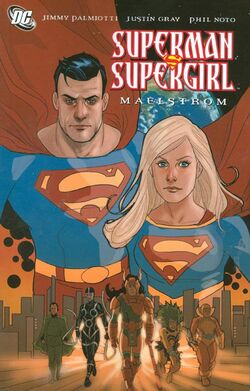 Cover for the Superman/Supergirl: Maelstrom Trade Paperback