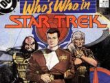 Who's Who in Star Trek Vol 1