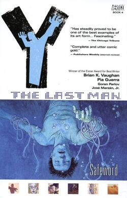 Cover for the Y: The Last Man: Safeword Trade Paperback