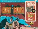 Batman: Robin Meets Man-Bat (Book and Record Set)