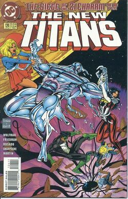New Teen Titans Vol 2 124