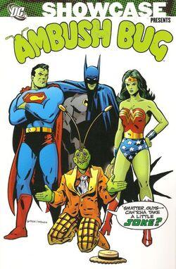 Cover for the Showcase Presents: Ambush Bug Trade Paperback