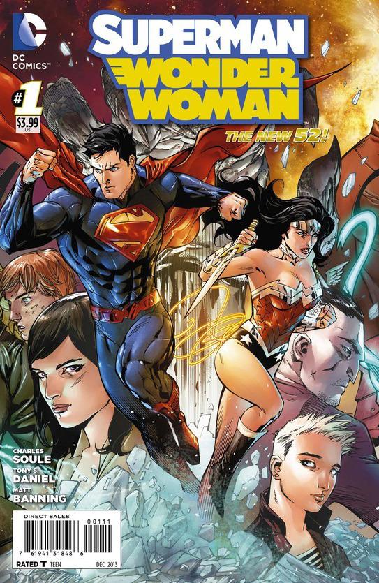 2015 Joker Variant Superman Wonder Woman #18 New 52