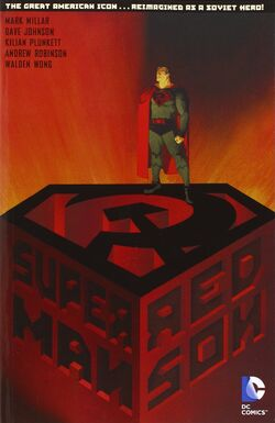 Cover for the Superman: Red Son Trade Paperback