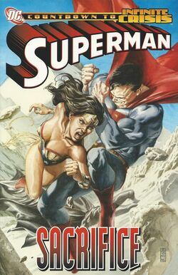 Cover for the Superman: Sacrifice Trade Paperback