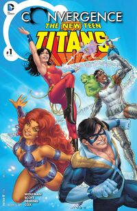 Convergence New Teen Titans Vol 1 1