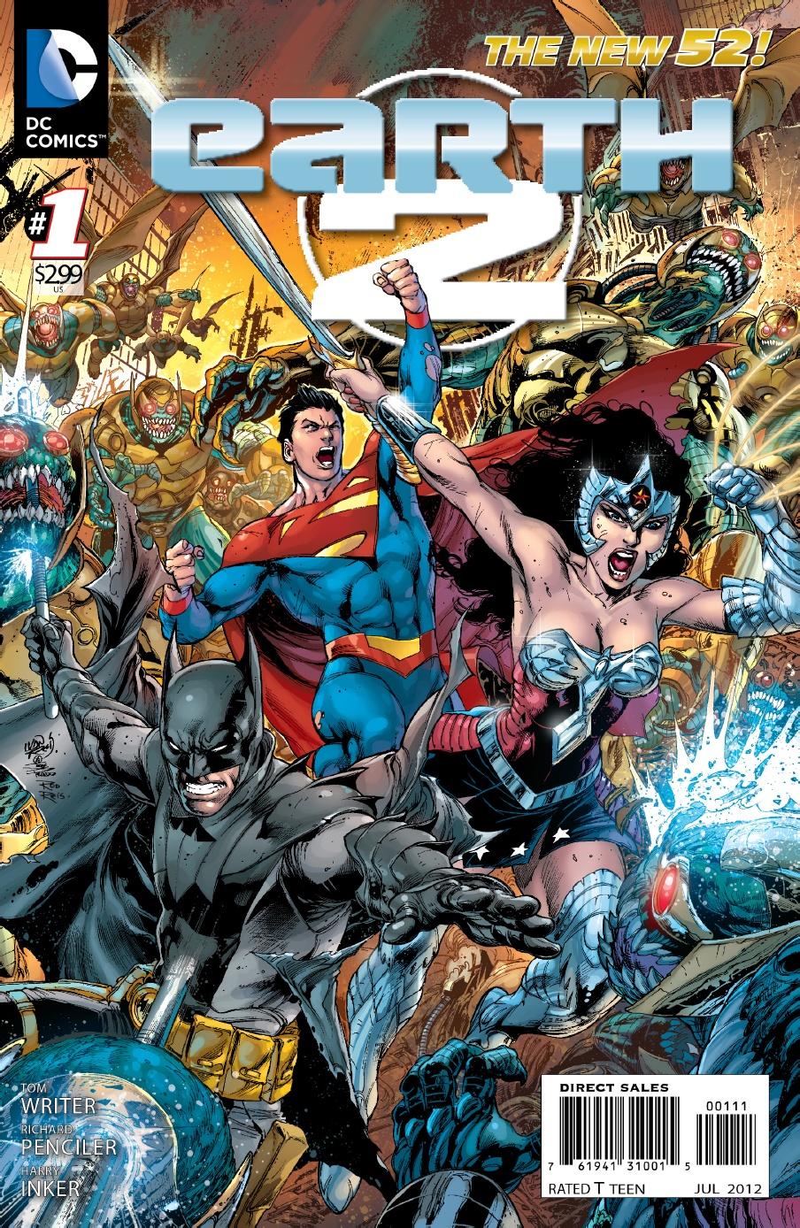 DC NEW 52 COMICS EARTH 2 #24 REGULAR COVER
