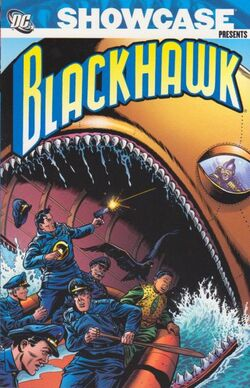 Cover for the Showcase Presents: Blackhawk Vol. 1 Trade Paperback