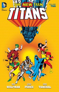 Cover for the The New Teen Titans Vol. 2 Trade Paperback