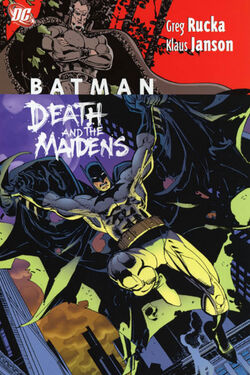Cover for the Batman: Death and the Maidens Trade Paperback