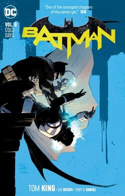 Cover for the Batman: Cold Days Trade Paperback