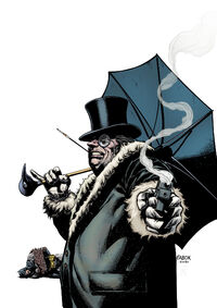 "I'm Cobblepot, you cretin. Do you think my parents named me ""The Penguin""?"