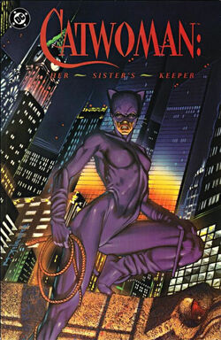 Cover for the Catwoman: Her Sister's Keeper Trade Paperback