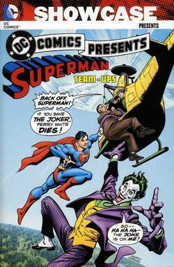 Cover for the Showcase Presents: DC Comics Presents Superman Team-Ups Vol. 2 Trade Paperback