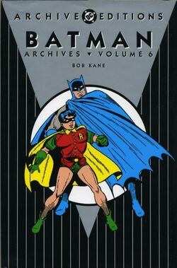 Cover for the Batman Archives Vol 6 Trade Paperback