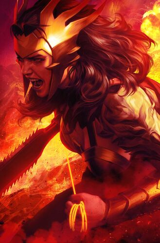 Textless Wonder Woman Variant