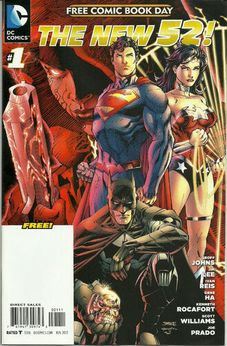 New 52 Comic Book