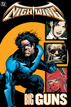 Cover for the Nightwing: Big Guns Trade Paperback