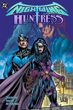 Cover for the Nightwing/Huntress Trade Paperback