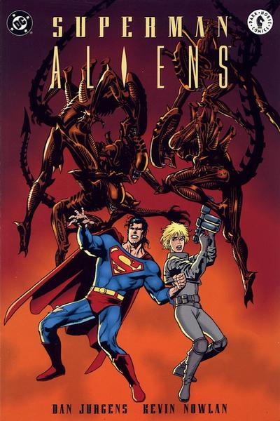 Image result for SUPERMAN/ALIENS # 1