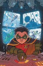 Robin was against Jackson joining the Teen Titans