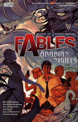 Cover for the Fables: Arabian Nights Trade Paperback