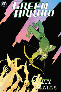 Cover for the Green Arrow: City Walls Trade Paperback